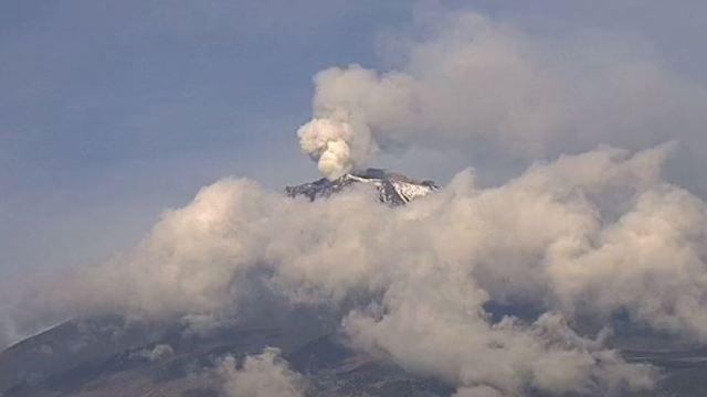 Cenapred: Modificaciones en domo del Popocatépetl i