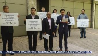 Activistas en México piden fin a la violencia en Nicaragua