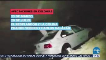 Afectaciones Lluvias Morelia Michoacán