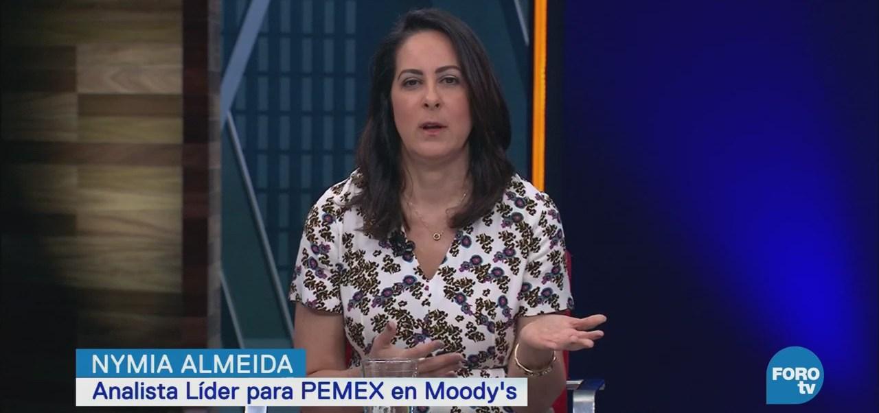 Entrevista Analista Líder Pemex Moody's, Nymia Almeida