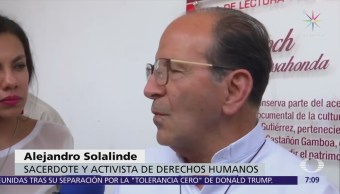 Alejandro Solalinde no entrega carta de AMLO al EZLN