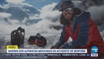Alpinistas Mexicanos Mueren Accidente Montaña Perú