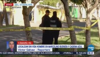 Amanece cadáver en calles de la delegación Iztapalapa