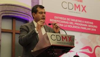 Amieva envía propuesta para nuevo titular de la SSP-CDMX
