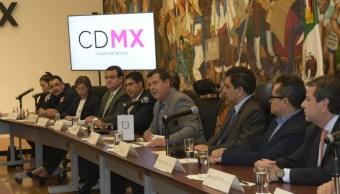 Amieva va por delincuentes extranjeros que operan en la CDMX