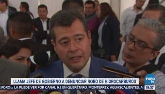 Amieva Llama Capitalinos Denunciar Huachicoleros Robo Gasolina