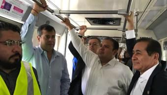 Amieva anuncia mantenimiento en todas las estaciones del tren ligero tras desperfecto