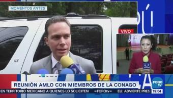 Amlo Se Reúne Integrantes Conago Manuel Velasco