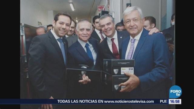 Amlo Reúne Integrantes Concamin