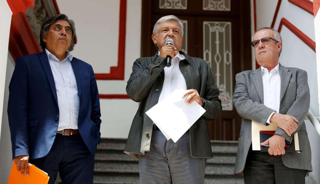 López Obrador presenta siete proyectos prioritarios para su gobierno