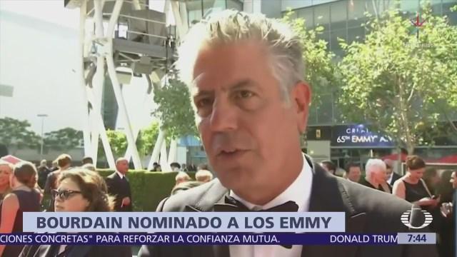 Anthony Bourdain recibe nominaciones póstumas