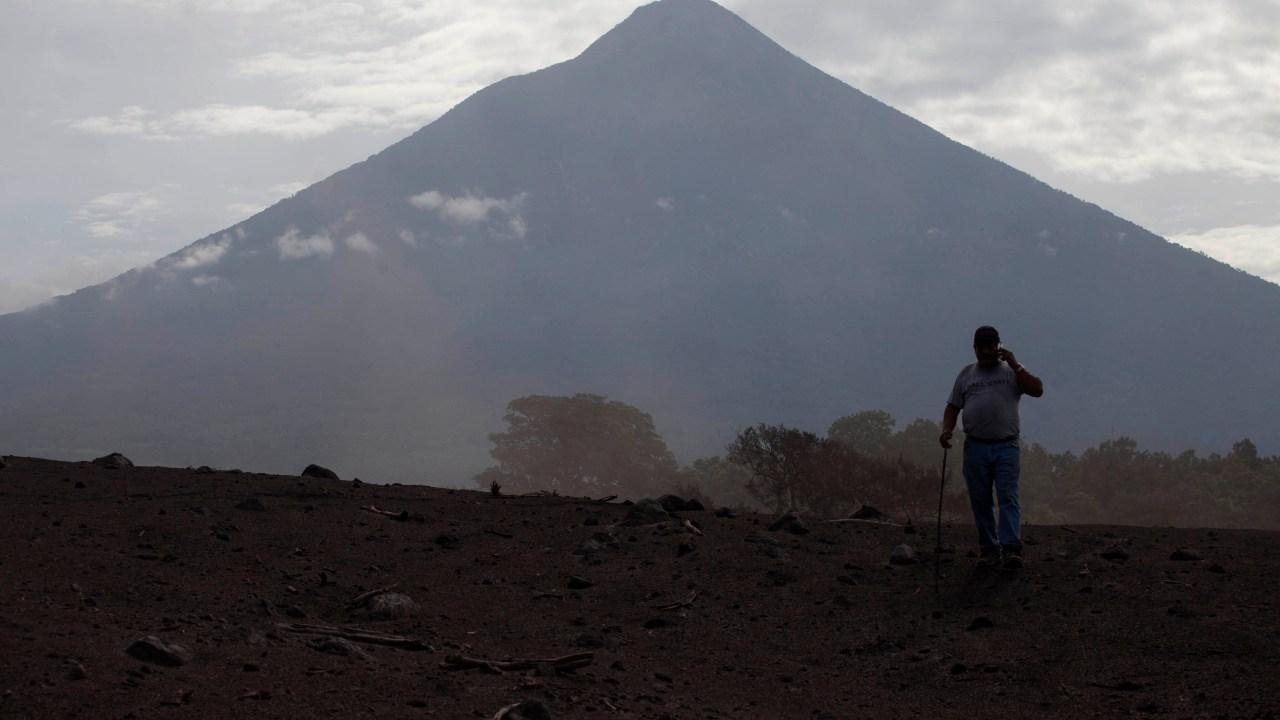 Desciende actividad del Volcán de Fuego en Guatemala