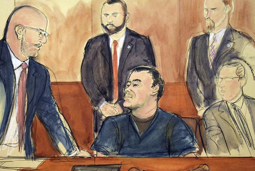 Aplazan juicio de ´El Chapo´ a noviembre