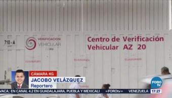 Clausuran Centro Verificación Vehicular Verificentros CDMX Corrupción