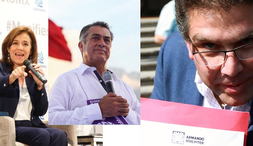 Multan a Margarita Zavala, 'El Bronco' y Ríos Piter por simulación de firmas