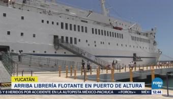 Arriba a Yucatán la librería flotante más grande del mundo