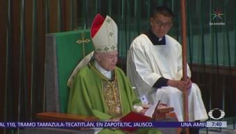 Arzobispo de México condena la violencia en Nicaragua