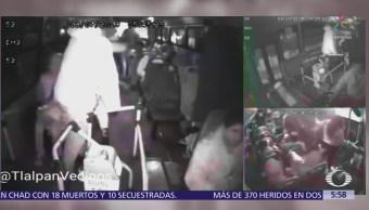 Asaltan a pasajeros en camión de transporte público en Tlalpan, CDMX