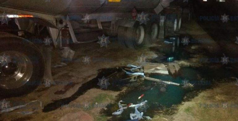 Recuperan 45 mil litros de combustible robado en Tezoyuca