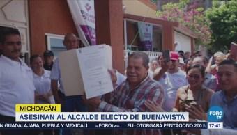 Asesinan Alcalde Electo Buenavista Michoacán