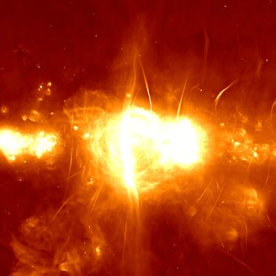 Así se ve el centro de la Vía Láctea gracias a un nuevo telescopio