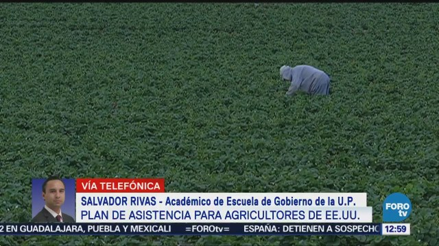 Asistencia para agricultores de EU, efecto de aranceles