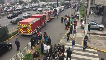 20 heridos estallar mochilas explosivos clínica de Lima