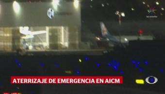 Aterriza sin complicaciones vuelo de Iberia en AICM