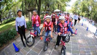 Más de 14 mil personas han tomado clases de ciclismo urbano