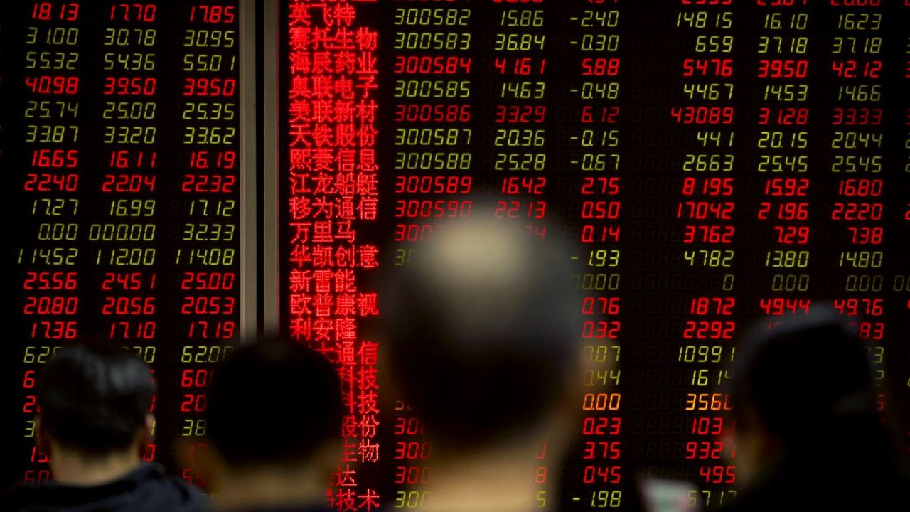 Bolsa de Tokio cae 1.33%, mercados de China al alza