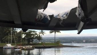 Bomba volcánica deja 23 turista heridos Hawai
