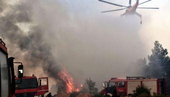 Ola de calor provoca sequías e incendios forestales