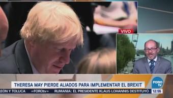 Boris Johnson renuncia al Ministerio de Relaciones Exteriores de Reino Unido