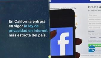 California Aprueba Ley Protección Datos Estados Unidos