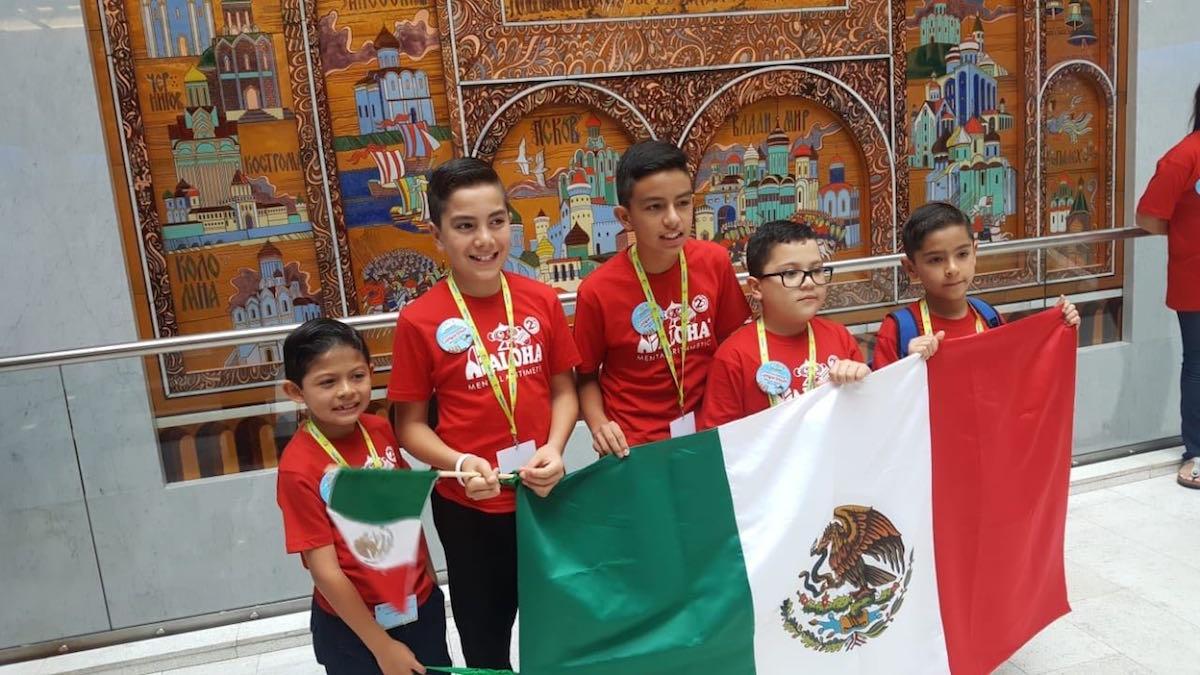 Niños panameños logran 9 trofeos en Mundial de Cálculo Mental de Rusia