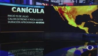 Canícula provoca intensa ola de calor en México