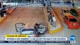 Detienen Ladrones Transporte Metro Tacuba