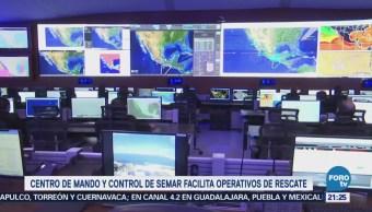 Centro de mando de la Marina, el más grande y moderno