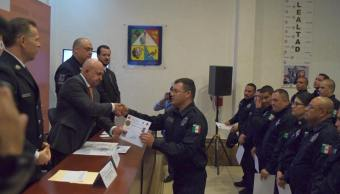 Policías Sonora acreditan para ejercer labor nivel nacional