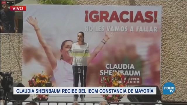 Claudia Sheinbaum Adelanta Plan Gobierno Cdmx