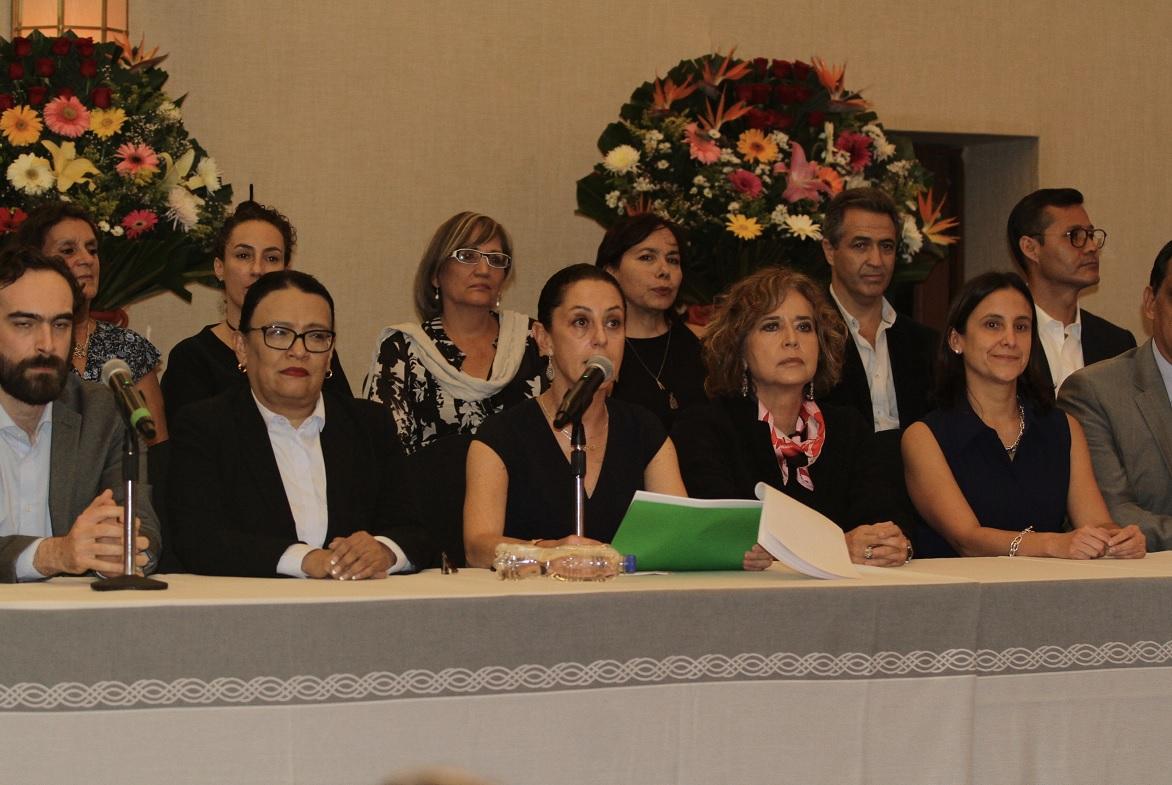 Claudia Sheinbaum anuncia quiénes formarán parte de su gabinete