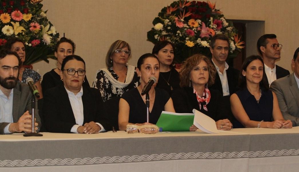 Claudia Sheinbaum presenta a integrantes de su gabinete