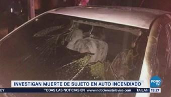 Investigan Muerte Hombre Calcinado Tlalpan