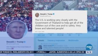Trump Alaba Rescatistas Niños Atrapados Cueva Tailandesa
