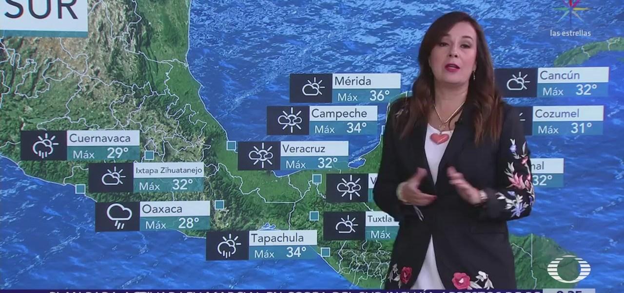 Habrá lluvias en 27 estados de la República