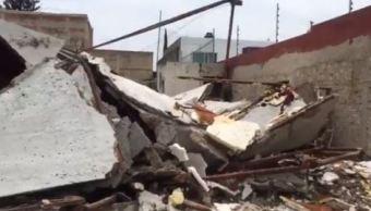 Joven muere tras derrumbarse techo de construcción en Zapopan
