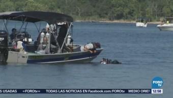 Comienzan trabajos para sacar a flote bote hundido en Missouri