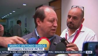 Morena INE Actuó Evidencias Marco Baños