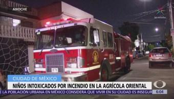 Conato de incendio en la Agrícola Oriental deja 8 niños intoxicados