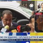 Concluye Reunión Amlo Legisladores Electos Morena